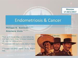 Koninckx P, Ussia A, Gruppo italo belga, presentations 2016, deep endometriosis